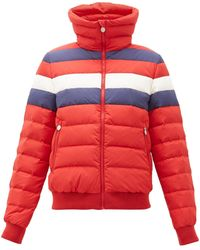 Perfect Moment Queenie Down Puffer Jacket - Red