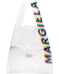 Maison Margiela Transparent Shopping Bag - Multicolour