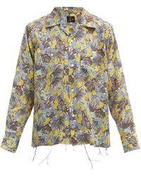 Needles フローラルクレープシャツ - マルチカラー