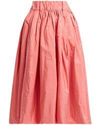 Molly Goddard - Queenie Taffeta Skirt - Lyst