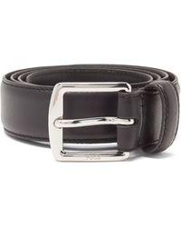 Polo Ralph Lauren Rlpc 67 レザーベルト - ブラック