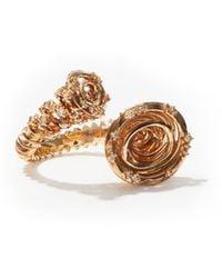 Bibi Van Der Velden Tornado Diamond & 18kt White-gold Ring - Metallic