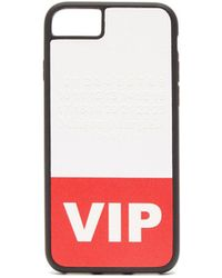Maison Margiela Vip Printed Iphone® 8 Phone Case - Red