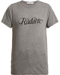 Rodarte | Logo-print T-shirt | Lyst
