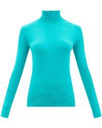Bottega Veneta タートルネックセーター - ブルー