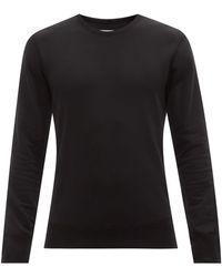 Reigning Champ Sweat-shirt en coton pima - Noir