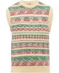 Acne Studios Krog Jacquard-stripe Knitted Tank Top - Multicolour