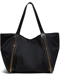 Stella McCartney Falabella Chain Embellished Tote - Black