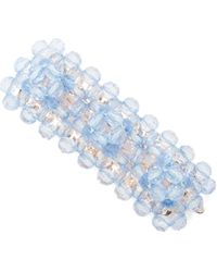 Shrimps Antonia Bead-embellished Hair Clip - Blue