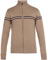 Fusalp - Wengen Fiz Ii Zip-up Wool Sweater - Lyst