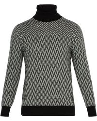 Givenchy - Graphic Cotton Sweater - Lyst