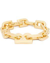 ALAN CROCETTI Bracelet en silicone à charm B Maldives - Jaune