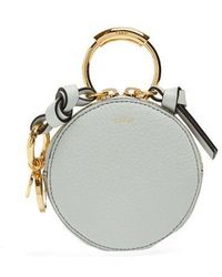 Chloé - Round-mini Leather Coin Purse - Lyst