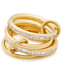 Spinelli Kilcollin - Lehmus Diamond & Yellow Gold Ring - Lyst