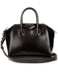 Givenchy Antigona Mini Leather Cross-body Bag - Black