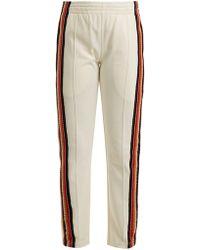Wales Bonner Crochet Striped Track Pants - Multicolor