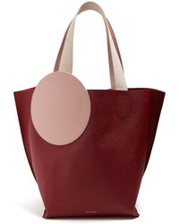 ROKSANDA - Eider Pebbled Leather Tote - Lyst