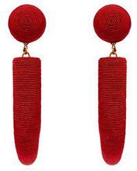 Rebecca de Ravenel - Pasha Cord Earrings - Lyst