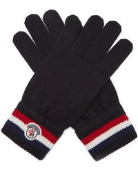 Moncler - Wool Gloves - Lyst