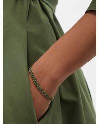 SHAY Bracelet à maillons en or 18 carats et émeraude - Vert