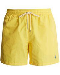 Polo Ralph Lauren - Logo-embroidered Swim Shorts - Lyst