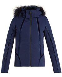Fendi - Roma Logo-embroidered Ski Jacket - Lyst