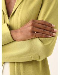 Theodora Warre Spike Zircon & Gold-plated Pinky Ring - Metallic