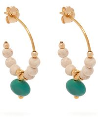Elise Tsikis - Eole Beaded Earrings - Lyst