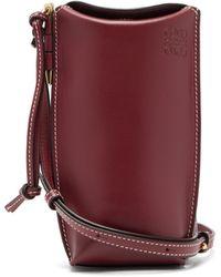 Loewe Gate Pocket Leather Cross-body Bag - Multicolour