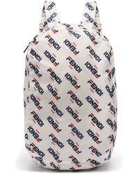 Fendi - Mania Help Leather Bag Charm - Lyst