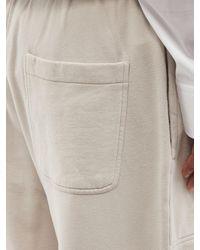 Balenciaga クロップド ワイドトラックパンツ - ホワイト