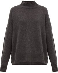 Allude - High-neck Cashmere Sweater - Lyst