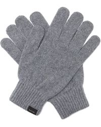 Paul Smith Cashmere-blend Gloves - Gray