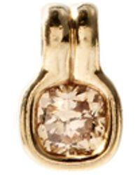 Fernando Jorge クッション ダイヤモンド 18kベージュゴールドチャーム - マルチカラー