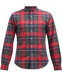 Polo Ralph Lauren チェック コットンシャツ - レッド