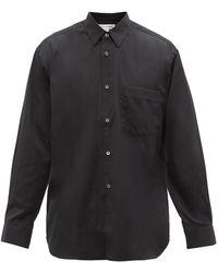 Comme des Garçons Comme Des Garçons Shirt フォーエバー コットンシャツ - ブラック