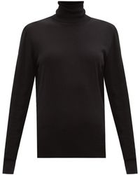 Dolce & Gabbana タートルネック ウールセーター - ブラック