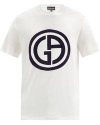 Giorgio Armani - ロゴ Tシャツ - Lyst