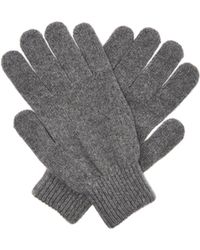 Paul Smith - Cashmere And Merino Wool Blend Gloves - Lyst