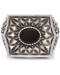 Emanuele Bicocchi Chevalier Sterling-silver Ring - Metallic