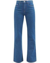 Wandler Daisy Flared-leg Jeans - Blue