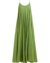 Three Graces London Mabelle Maxi Dress - Green