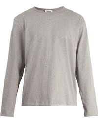 Acne Studios - Niagara Crew-neck Long-sleeve T-shirt - Lyst