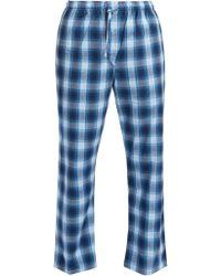 Derek Rose - Ranga Brushed Cotton Pyjama Trousers - Lyst