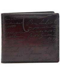 Berluti - Makore Leather Wallet - Lyst
