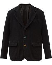 Undercover ショールラペル ウールジャケット - ブラック