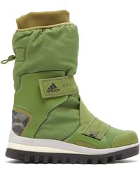 adidas By Stella McCartney Technical Logo-jacquard Boots - Green