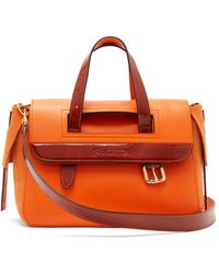 JW Anderson - Tool Mini Suede And Leather Shoulder Bag - Lyst