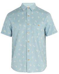 Faherty Brand - Coast Pineapple-print Shirt - Lyst