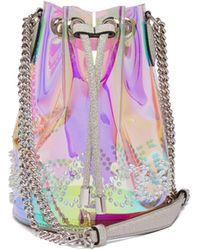 Christian Louboutin Marie Jane Pvc Bucket Bag - Multicolor